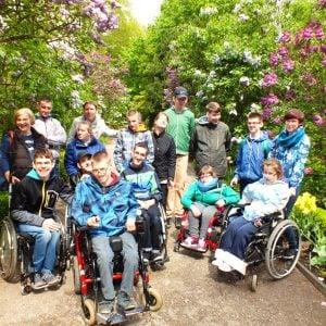 Spacer po Ogrodzie Botanicznym UW (14.05.2015)