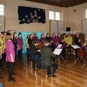 Koncert Kolęd wykonany przez uczniów z Zespołu Państwowych Szkół Muzycznych nr 1 w Warszawie (18.12.2014)