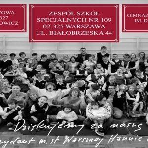 Uroczyste otwarcie budynku ZSS nr 109 przy ul Białobrzeskiej 44