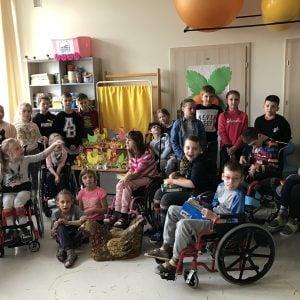 Warsztaty plastyczne z uczniami z Szkoły Podstawowej nr 220
