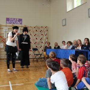 Wizyta dzieci z przedszkola nr 102 i gości z Estonii