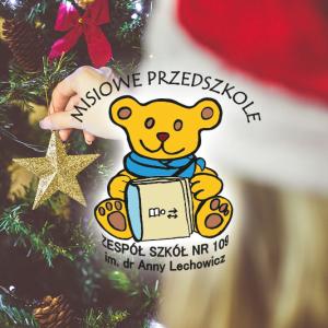 Wizyta Świętego Mikołaja w Misiowym Przedszkolu  (4grudnia 2015)